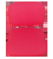 Asiento y respaldo ISO tapizado