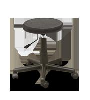 Banco secretarial poliuretano asiento grueso