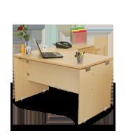 Escritorio secretarial Click 120 con lateral