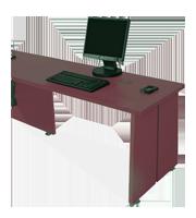 Lateral para escritorios ADS tipo forzza
