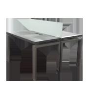 Mesa de trabajo metálica ADS 120 x 120 cm