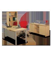 Oficina_ejecutiva_Alabama_con_librero_y_credenza