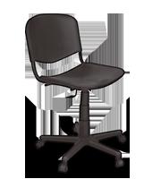 Silla secretarial ISO Plastic
