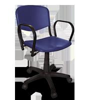 Silla secretarial ISO plastic cb