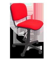Silla secretarial ISO tapiz