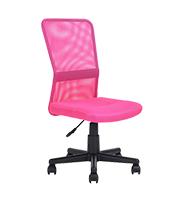 Silla secretarial Mesh Small PAEROA Pink