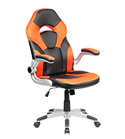 Sillón Premium Gamer Brandon naranja