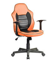 Sillon Estándar gamer Kite naranja